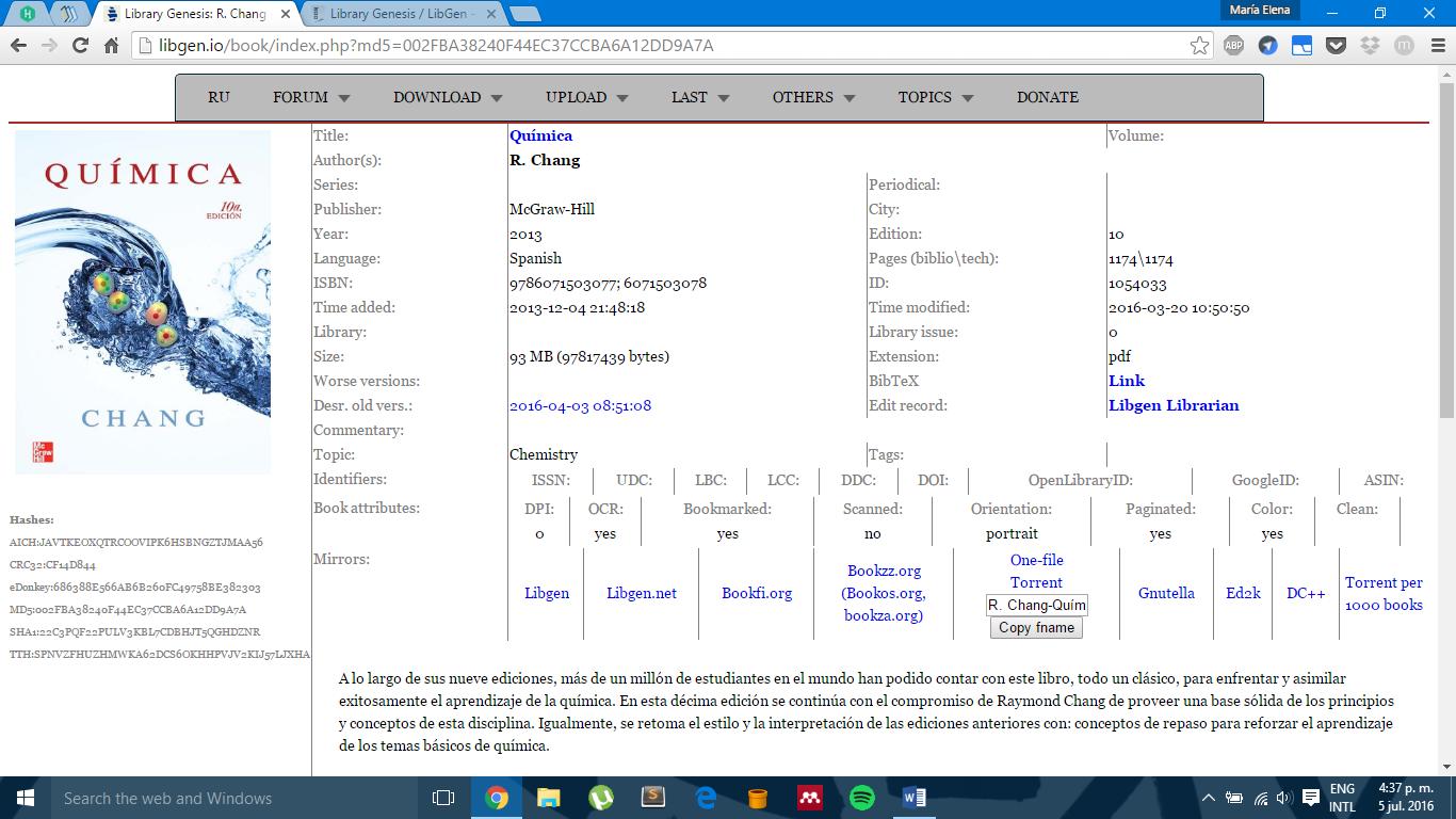 Conseguir material de estudio (I)  Libros de texto | GECO USB