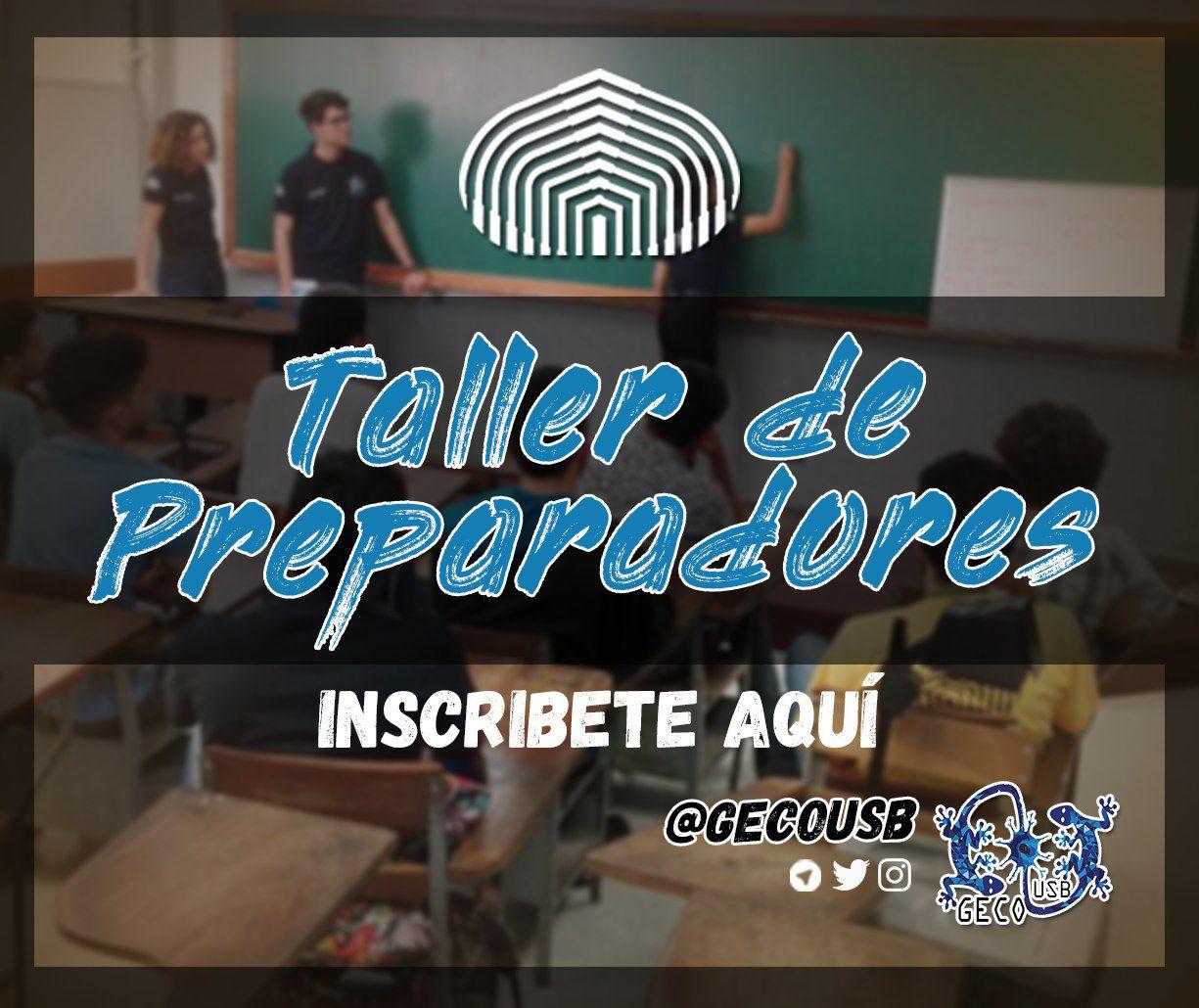 TALLER DE PREPARADORES
