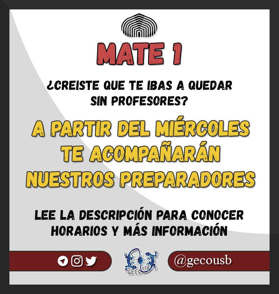 CLASES DE MATE 1