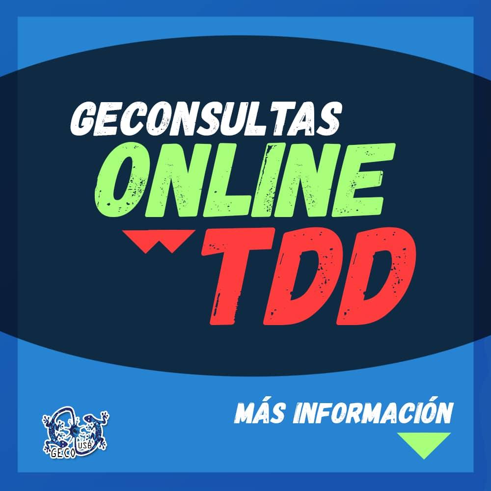 ¡GECONSULTAS TDD!